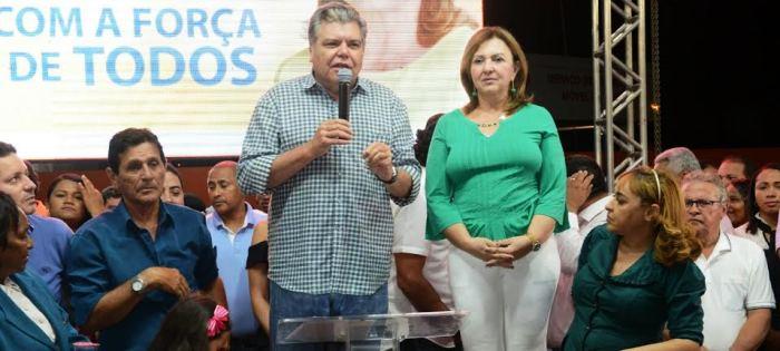 O ministro Sarney Filho também participou da festa