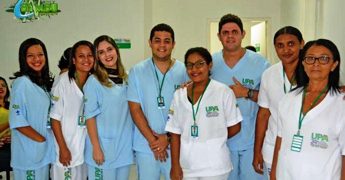 Equipe da UPA de Coelho Neto