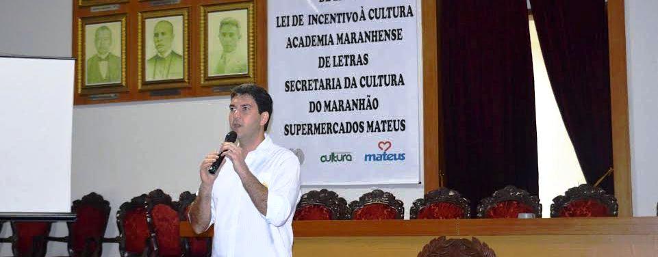 """Eduardo Braide na Academia Maranhense de Letras: """"cultura é para quem gosta de cultura"""""""