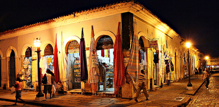 Área do Centro Histórico será uma das beneficiadas com o projeto de Eliziane