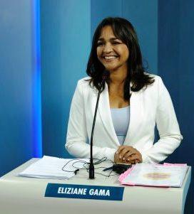 Eliziane: a mais preparada, dizem internautas