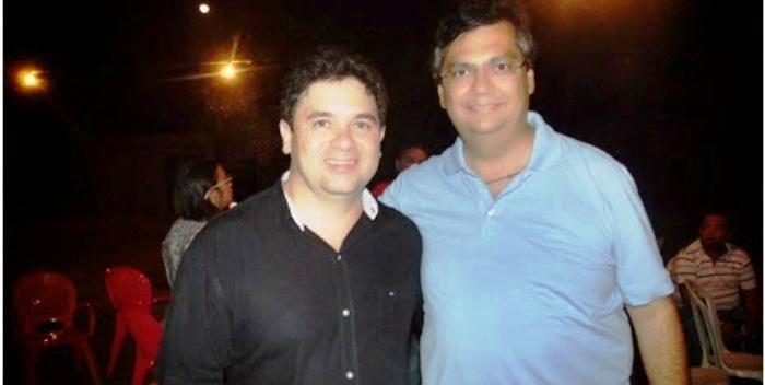 Mauro com Flávio: associação amiga garantiu circulação de dinheiro no município na pré-campanha