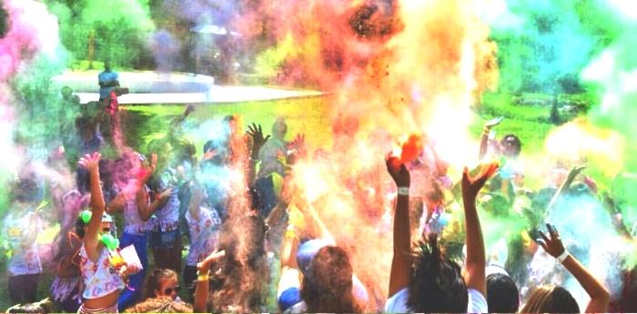 A Festa das Cores é uma das masi tradicionais do encontro MFB no país