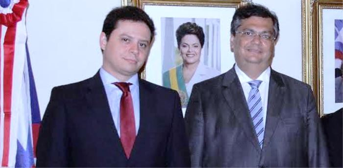 Rodrigo Maia com o chefe comunista Flávio Dino: a serviço de quem?