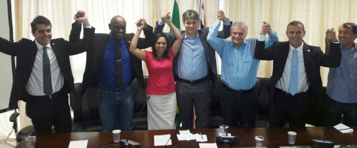 Adriano Sarney e seu PV estiveram com Eliziane e o PSDB no primeiro turno, não com Braide