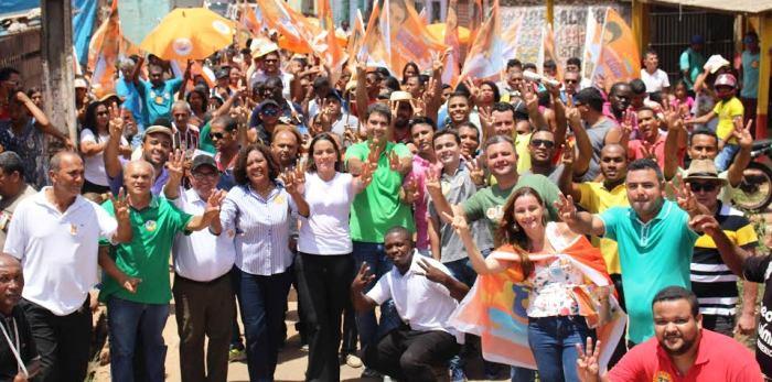 Eduardo Briade no São Cristovão: eleitores de todos os candidatos...