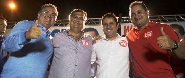 Flávio Dino avançou sobre Roberto e Weverton, e até o segundo turno com Edivaldo deu mais força ao comunista