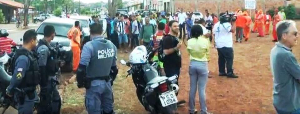 Polícia sentou praça em Coroatá, favorecendo o candidato de Flávio Dino, Luizinho da Amovelar