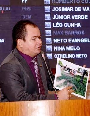 Rafael em discurso sobre o Iema, na AL